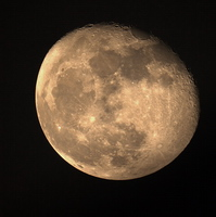 Moon, Mond 600mm